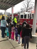 Fire Fighters at GBT Career Day