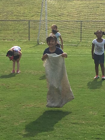 Field day-Potato Sack Race