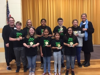 McCrary Mustangs Win Elementary Battle of the Books Competition