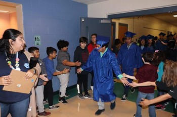 Cap and Gown Runway