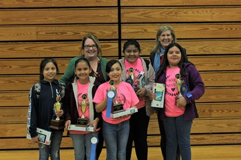 The Pink Panthers and NexGeneration take the win in the ACS STEAM Competition