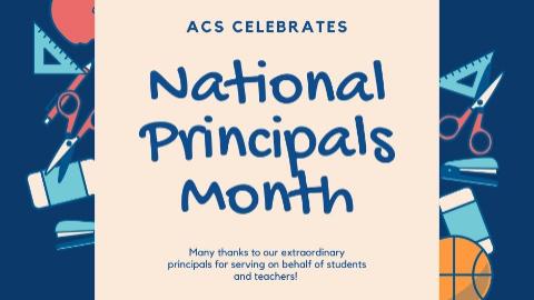 National Principals Month 2021