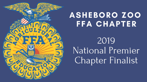 Asheboro Zoo FFA Chapter Named National Chapter Award Finalist