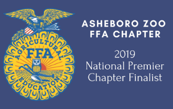 Banner for Asheboro Zoo FFA Chapter