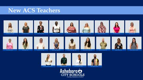 ACS Welcomes 22 New Teachers