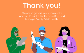 Special thanks to Randolph Health, Prevo Drug, and Randolph Public Health