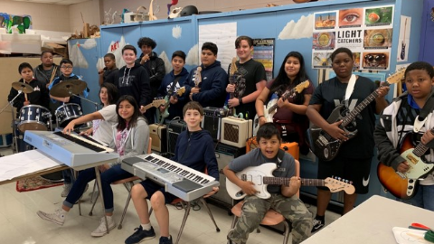 Rockin' Out at the NAMS School of Rock