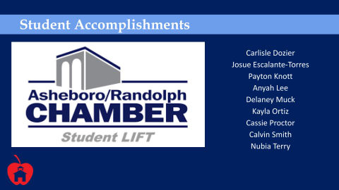 AHS Students Selected for Student LIFT
