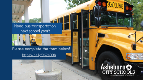 Transportation Form for 2021-22 School Year