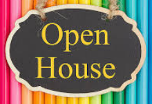 open house for school
