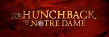 Logo for the Hunchback of Notre Dame Musical