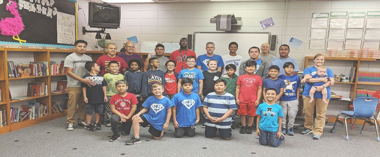 Boys Only Book Club Grade 2 - 5 Group Photo