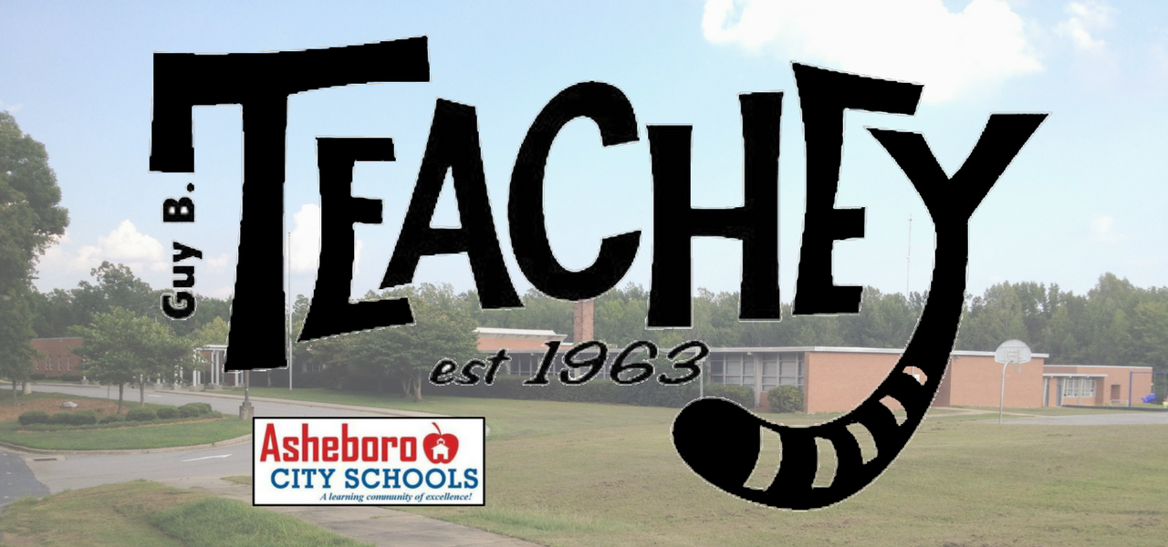 Guy B. Teachey Elementary School logo