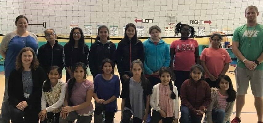 Girls Volleyball Club