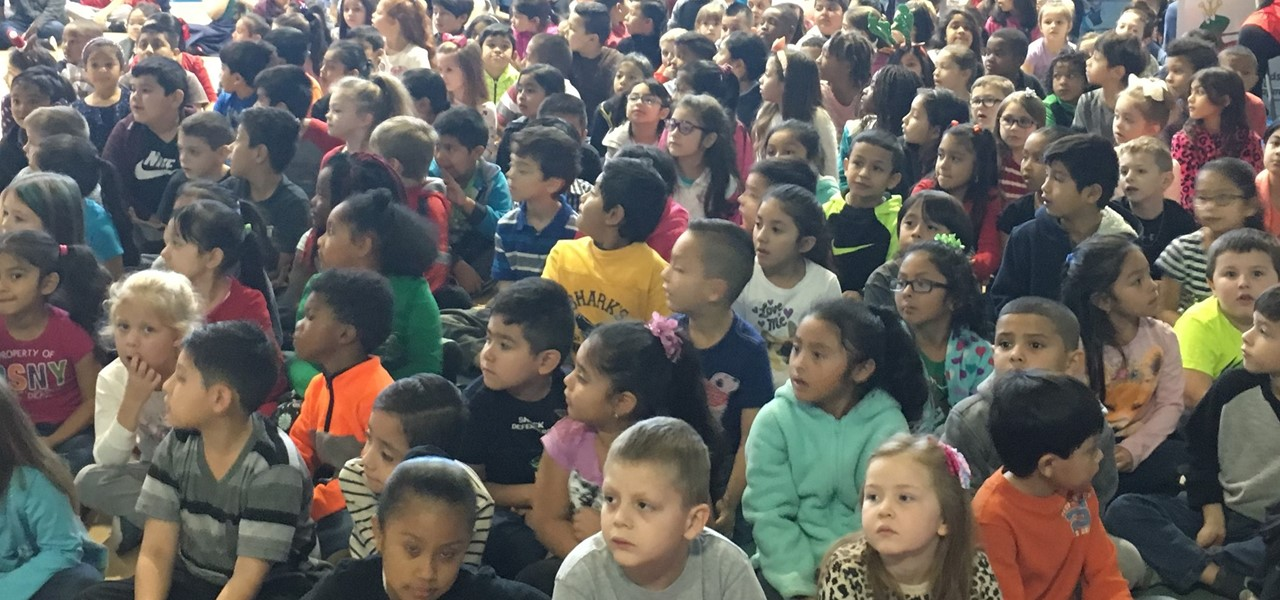 Balfour Students at Assembly