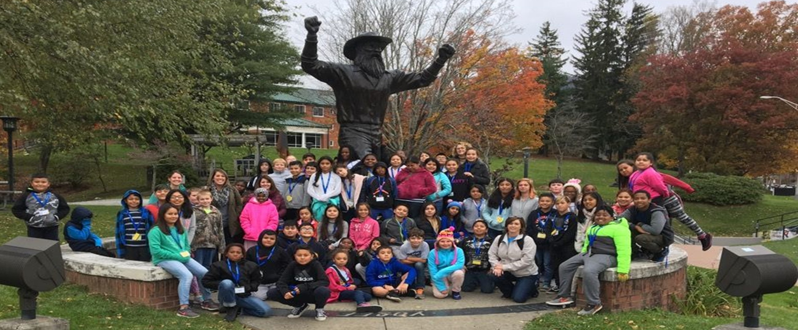 Grade 5 Field Trip to Appalachian University