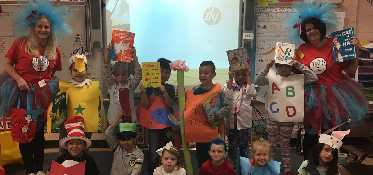 Mrs. Beck's Class on Read Across America Week