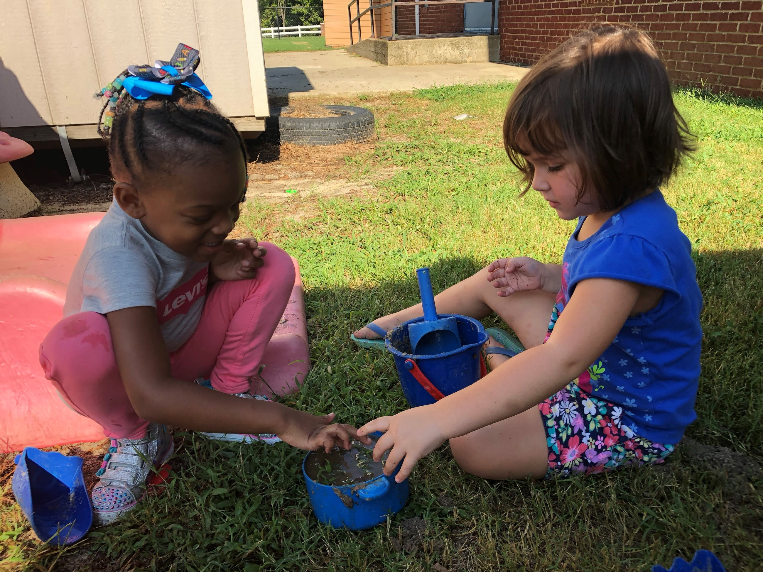 Playing in the Outdoor Learning Environment