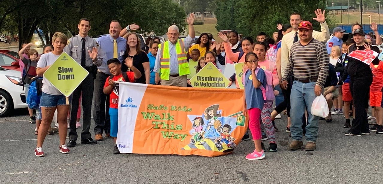 International Walk to School Day - October 2