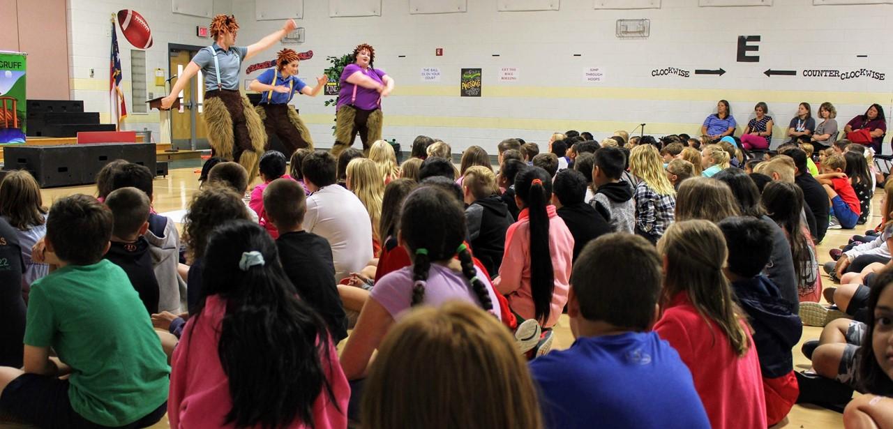 GBT Students Enjoying Opera for Kids