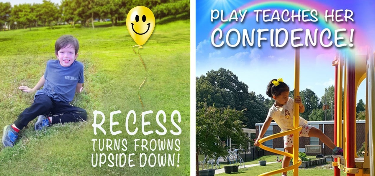 Recess and play give children confidence