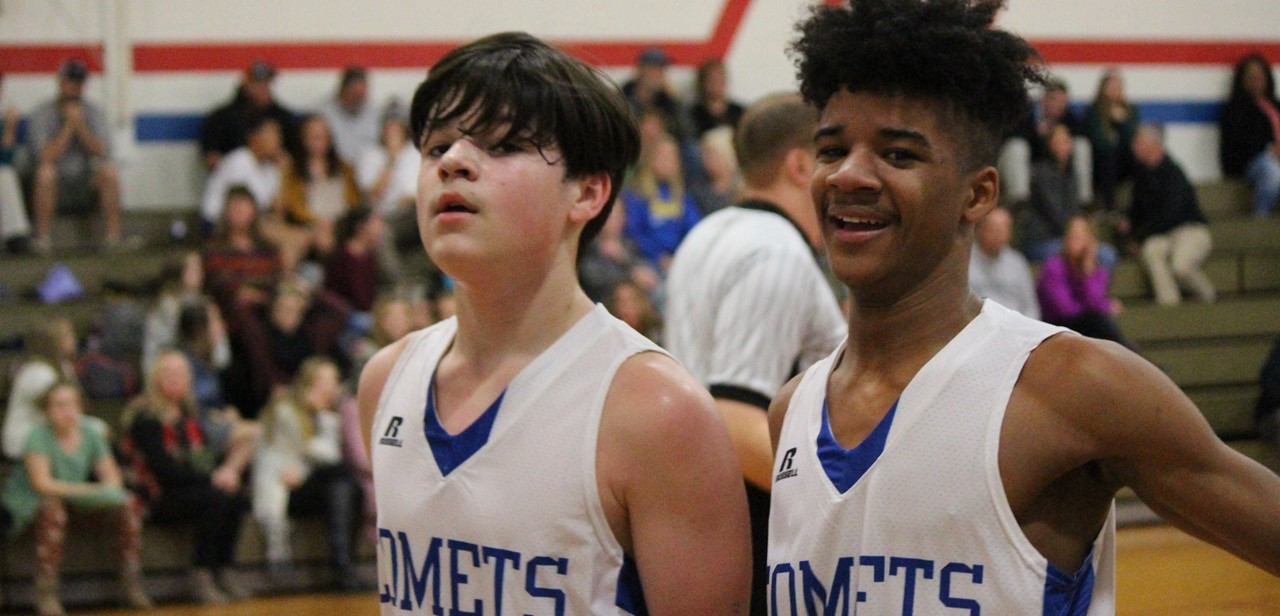 Boy's Basketball Players
