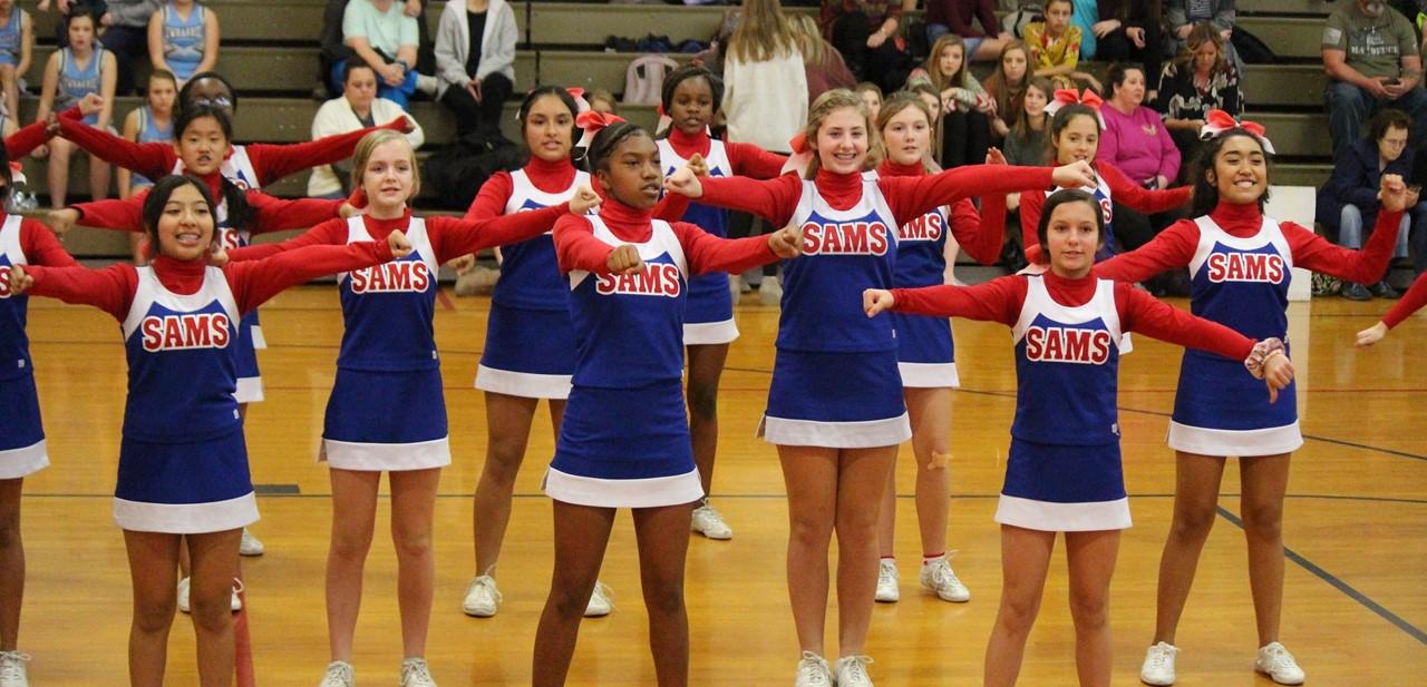 SAMS Cheerleaders