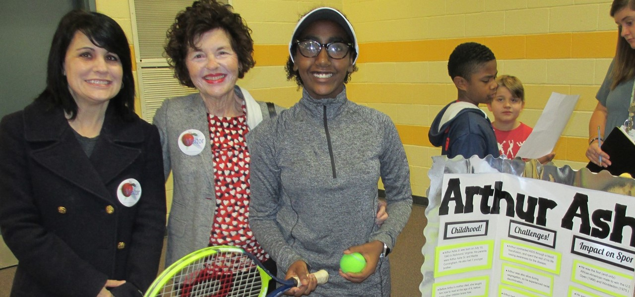 5th Grade Wax Museum Tennis Girl