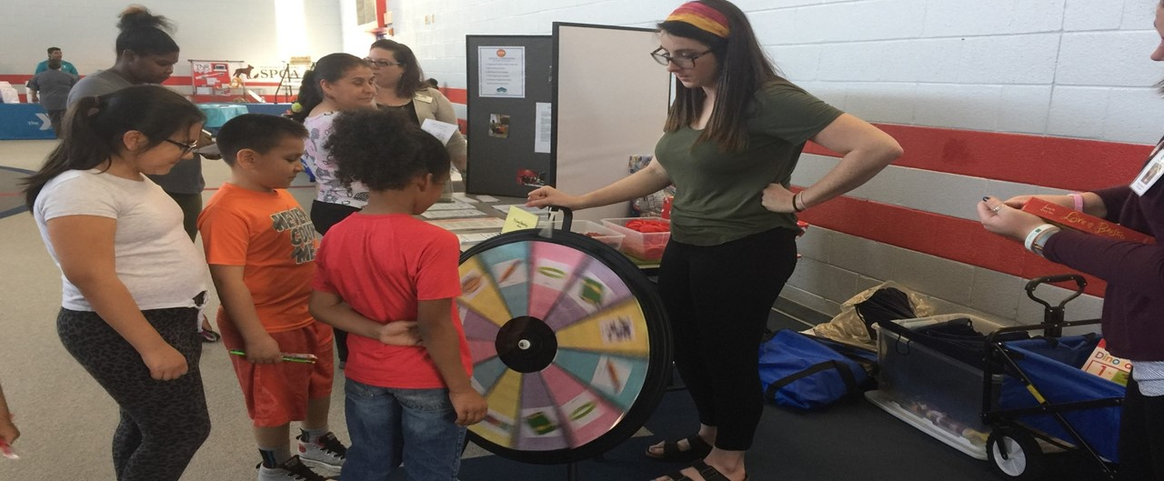 Community Fair in McCrary School Multipurpose room