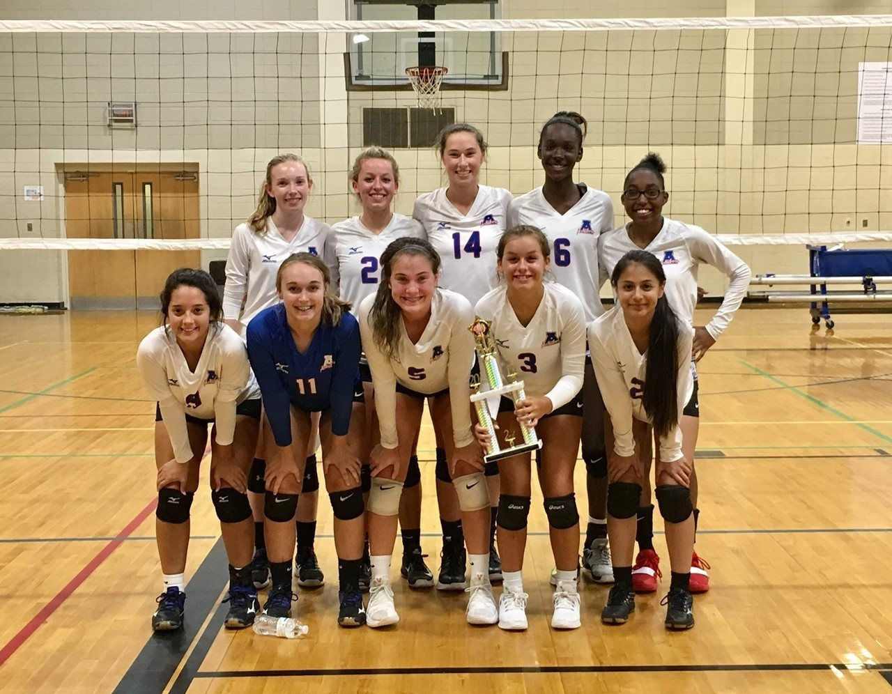 Girls Volleyball wins 2nd Place in the Tournament!