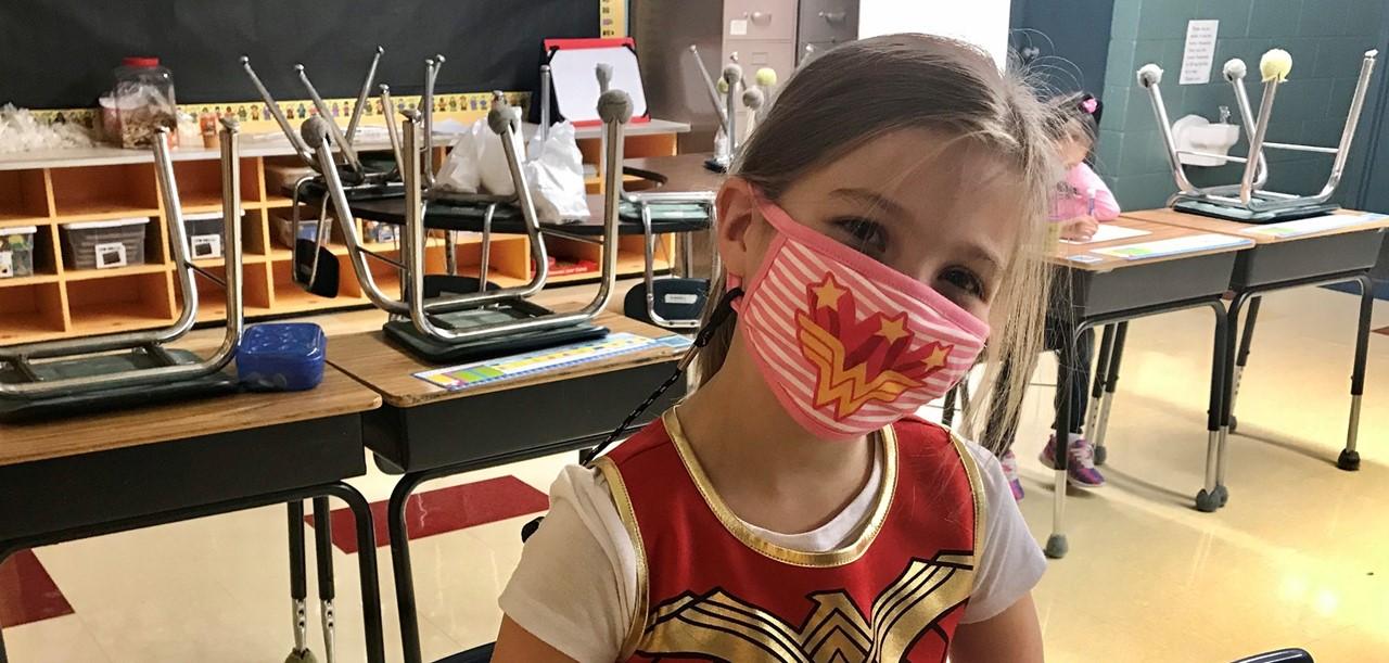 1st Grade Girl
