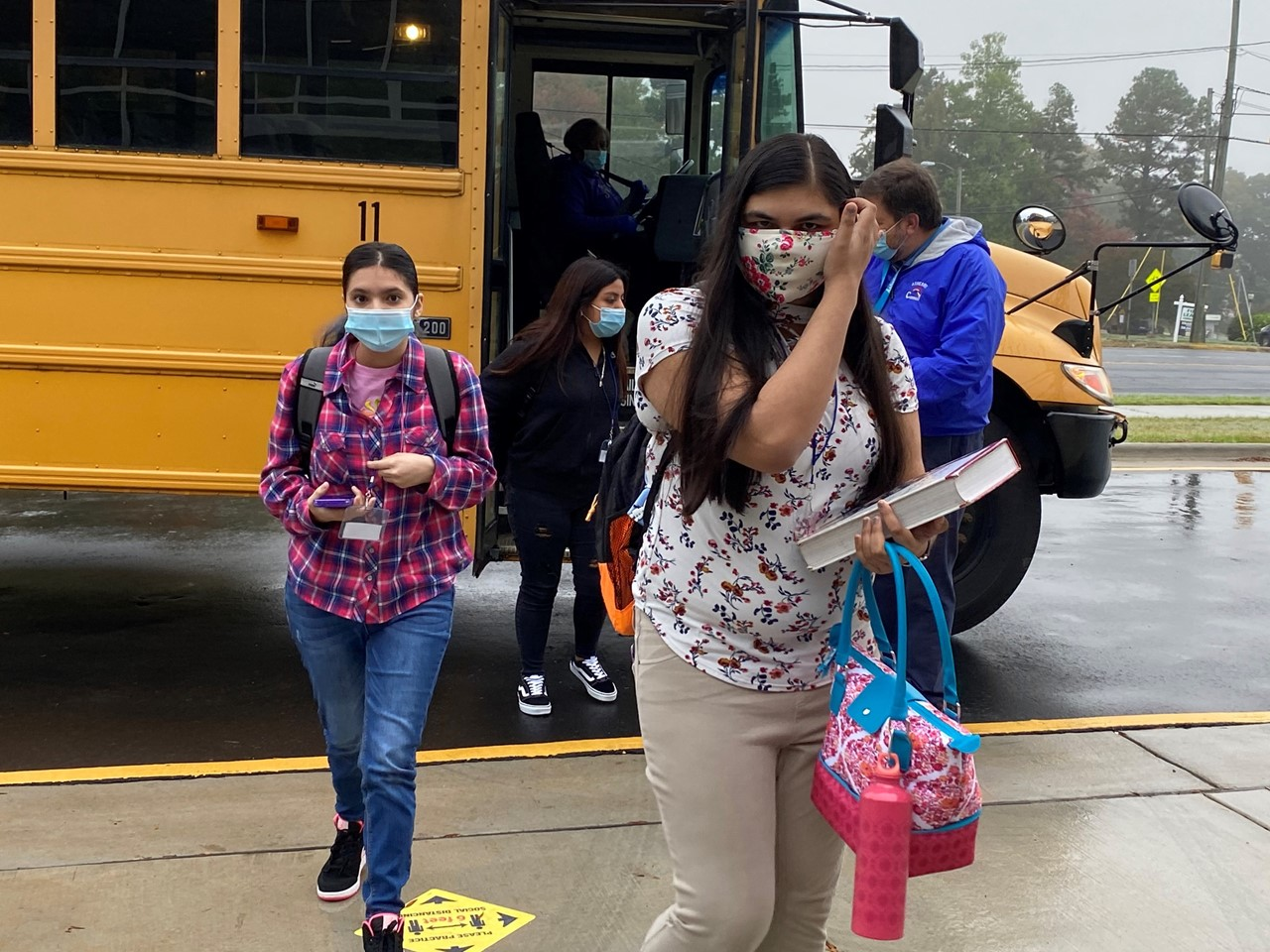 Students Return on Plan B