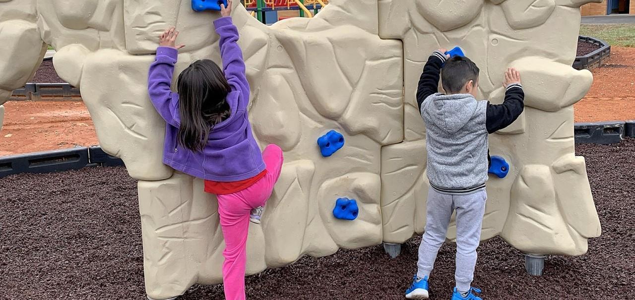 New Climbing Wall
