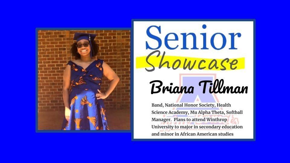 Senior Showcase Briana Tillman
