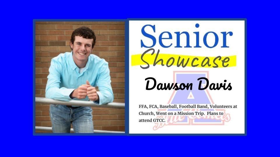 Senior Showcase Dawson Davis
