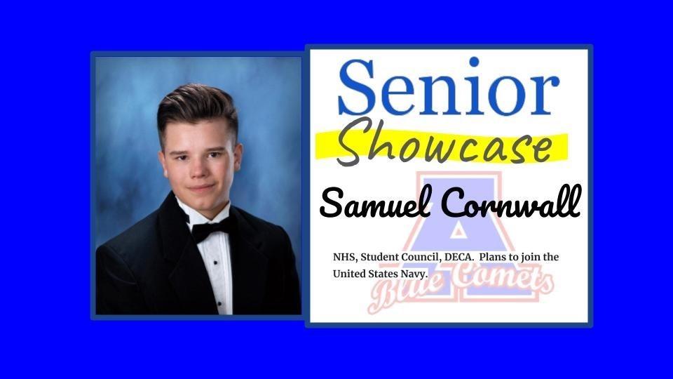 Senior Showcase Samuel Cornwall