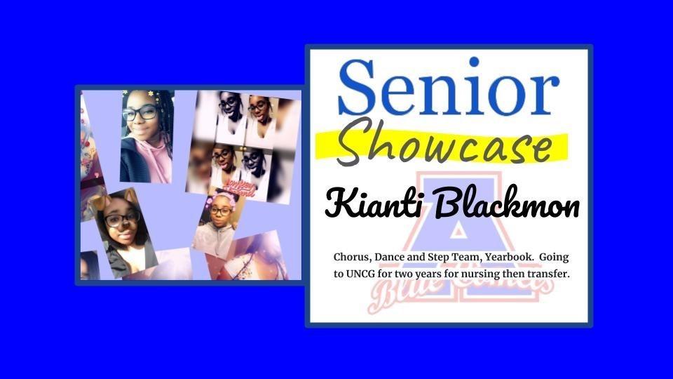 Senior Showcase Kianti Blackmon