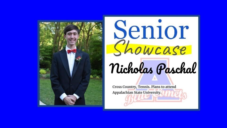 Senior Showcase Nicholas Paschal
