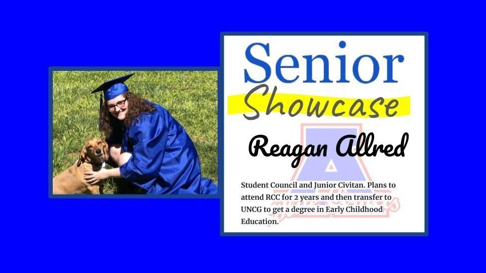 Senior Showcase Reagan Allred