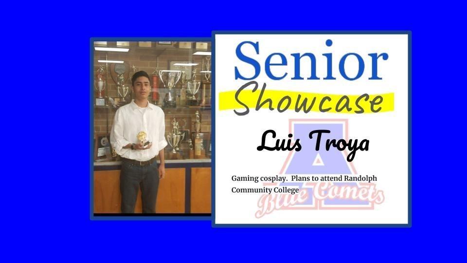 Senior Showcase Luis Troya