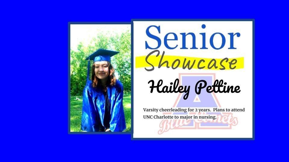 Senior Showcase Hailey Pettine