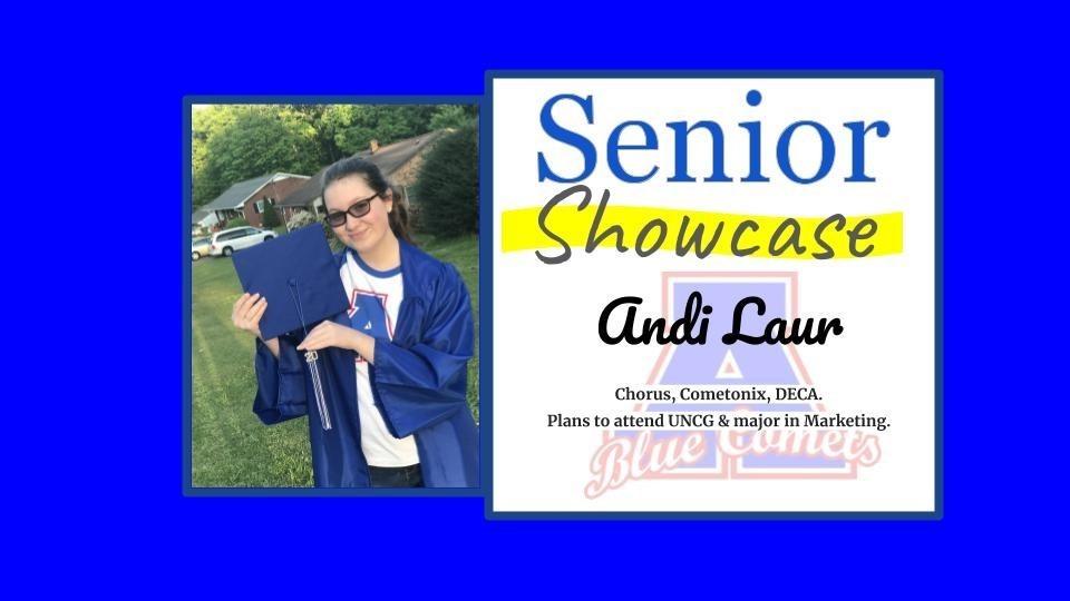 Senior Showcase Andi Laur