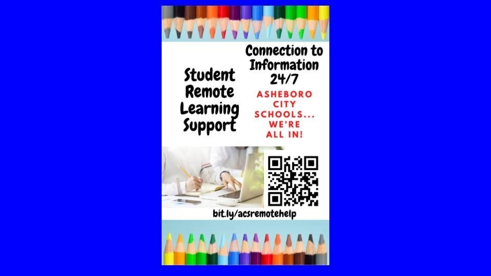 Student Remote Learning Support