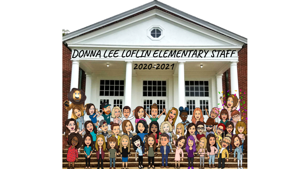 2020-2021 DLL Bitmoji Staff Picture