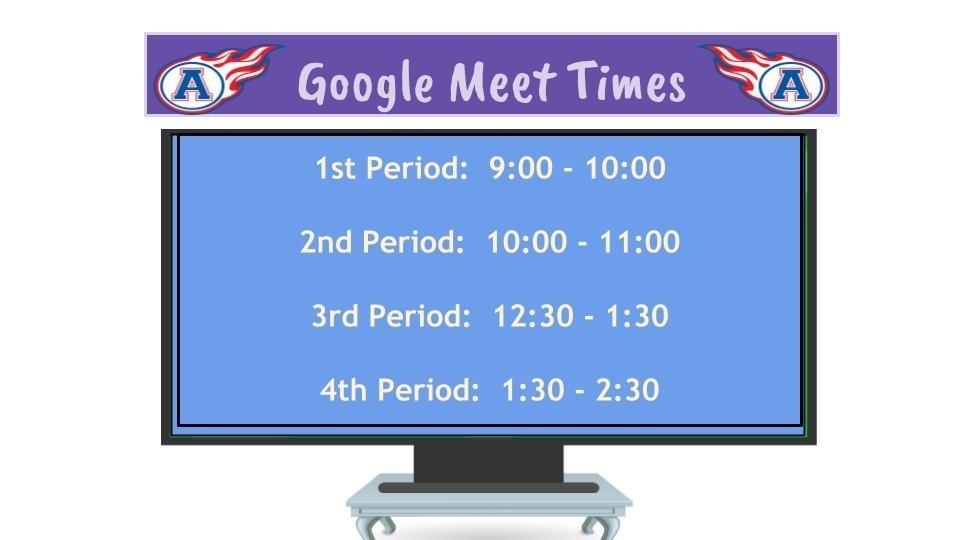 Google Meet Times