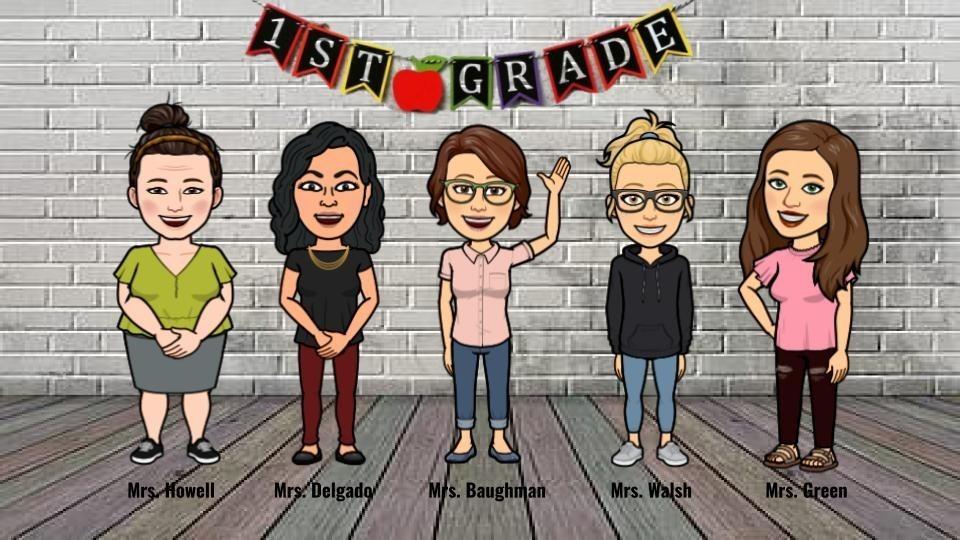 First Grade Bitmoji