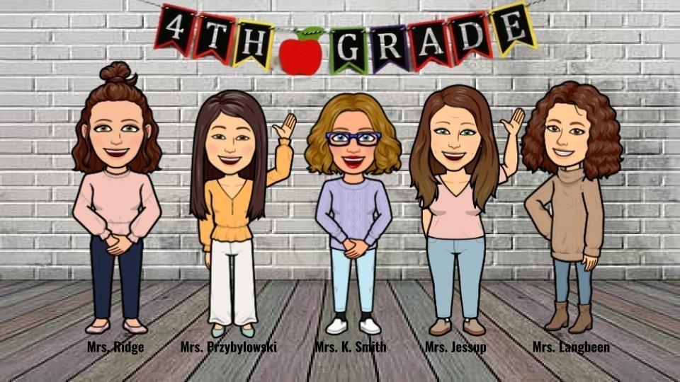 Fourth Grade Bitmoji