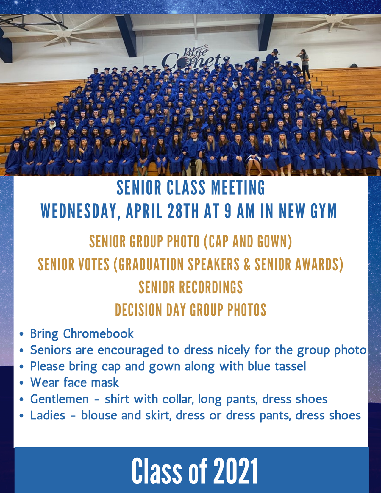 Senior Class Meeting