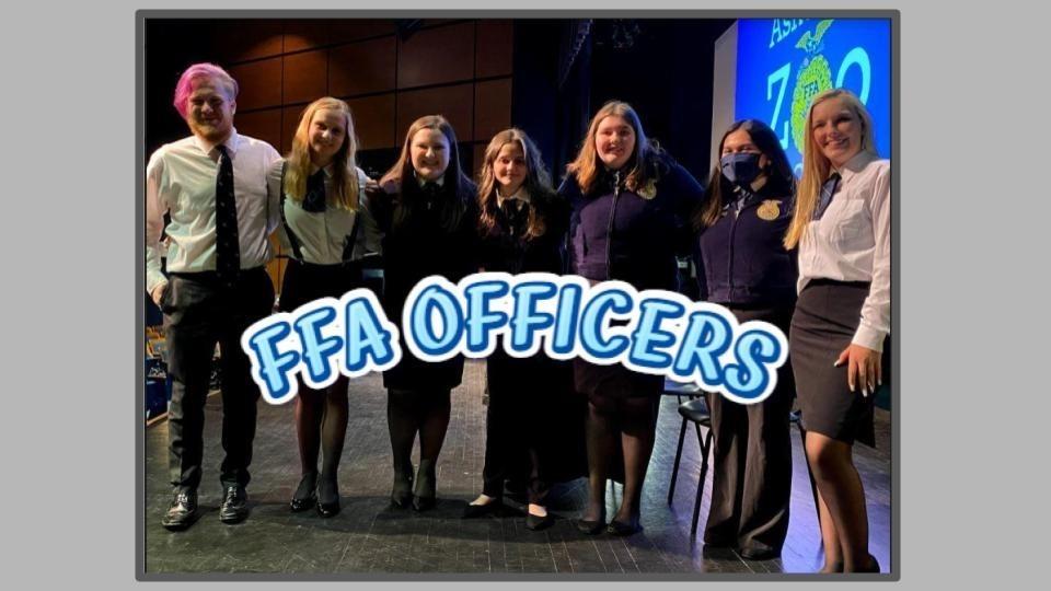 FFA Officers 2021