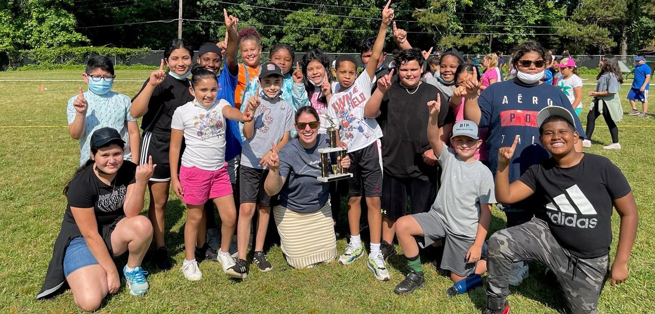 5th Grade Tug of War Winners